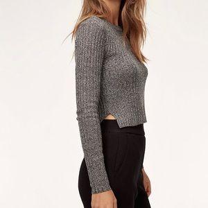 Aritzia Nathaniel crop sweater